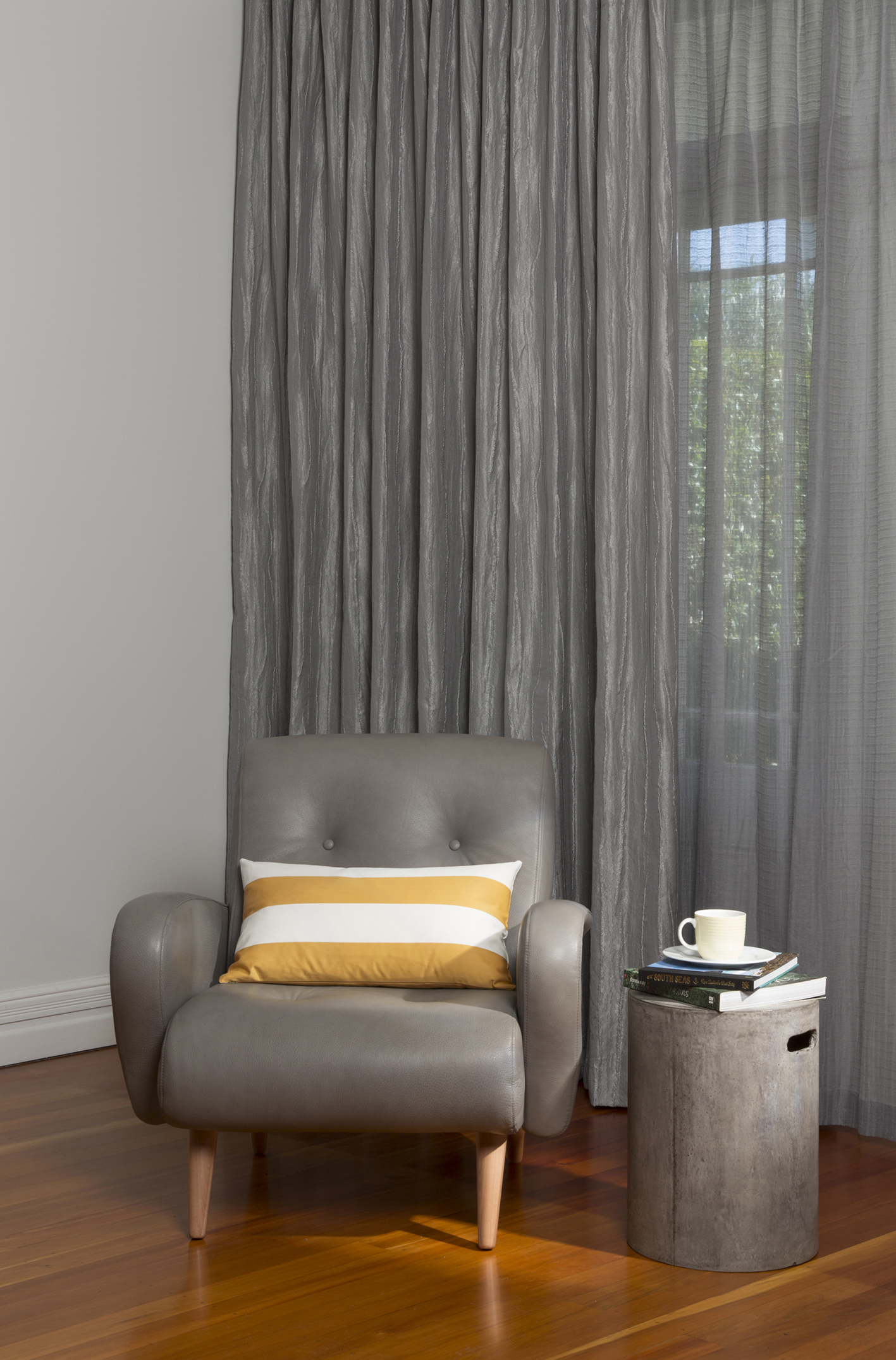 ... illusion of height in the room and achieve a consistent look all Curtains should be fitted at the same height and drop all the way down to the floor.