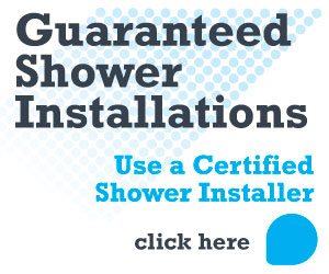 Use a specialist guaranteed shower installer